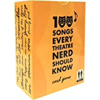 spinningrock 100 Songs Every Theatre Nerd Should Know - Ultimate Musical Theatre Broadway Card Game & Gift - Classic…