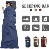 CAMTOA Sac de couchage Envelope en coton 190x75cm - étanche - super léger, Ultra-économie de l'espace pour voyage randonnée trekking camping