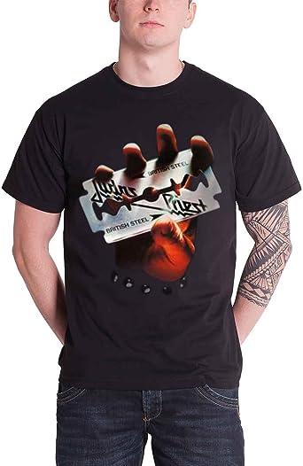 Rock Off Judas Priest British Steel Camiseta para Hombre: Amazon.es: Ropa y accesorios