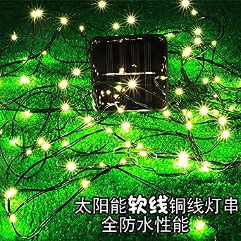 Cadena de luces Luces De Cadena Led Cortina Ventana Jardín Exterior Cuento De Hadas Luces Jardín