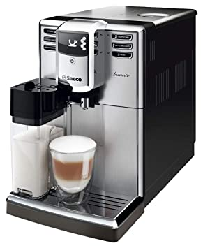 Saeco Incanto HD8917/09 - Cafetera (Independiente, Máquina espresso, 1,8 L, Molinillo integrado, 1850 W, Negro, Acero inoxidable): Amazon.es: Hogar