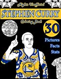 img - for Stephen Curry Basketball Coloring Book: Unofficial Night Edition: 30 Beautifully Designed Pictures of Stephen Curry, his stats and facts, and other ... and leaves (Sports coloring books) (Volume 1) book / textbook / text book