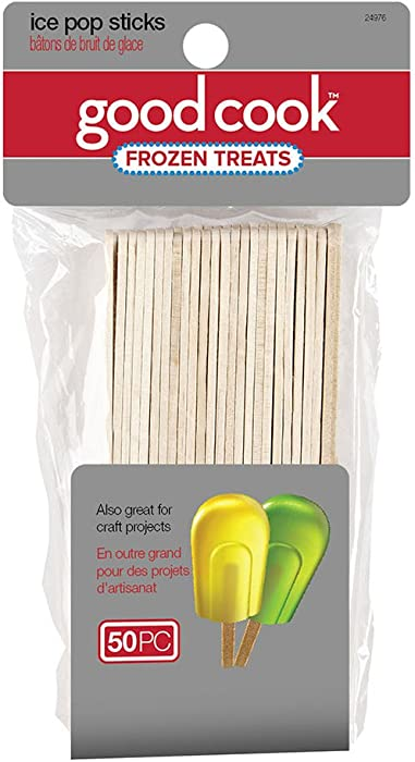 Good Cook 50-Count Ice Popsicle Sticks