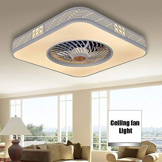 Ventilador extraíble invisible Ventilador de techo del LED con el ...