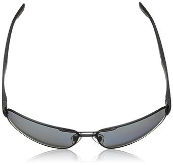 Amazon.com: BOSS by Hugo Boss B0521S Polarized Wrap Sunglasses,Matte Black,64 mm: Clothing