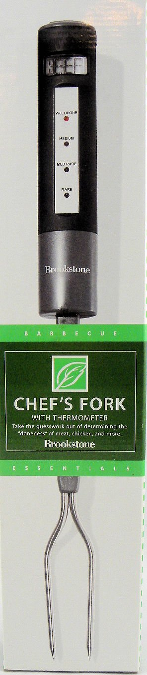 Brookstone Chef's Fork with Thermometer