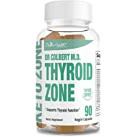 Divine Health Dr.Colbert's Thyroid Zone Vitamins A, D3 and B12 Optimal Thyroid Hormone Production