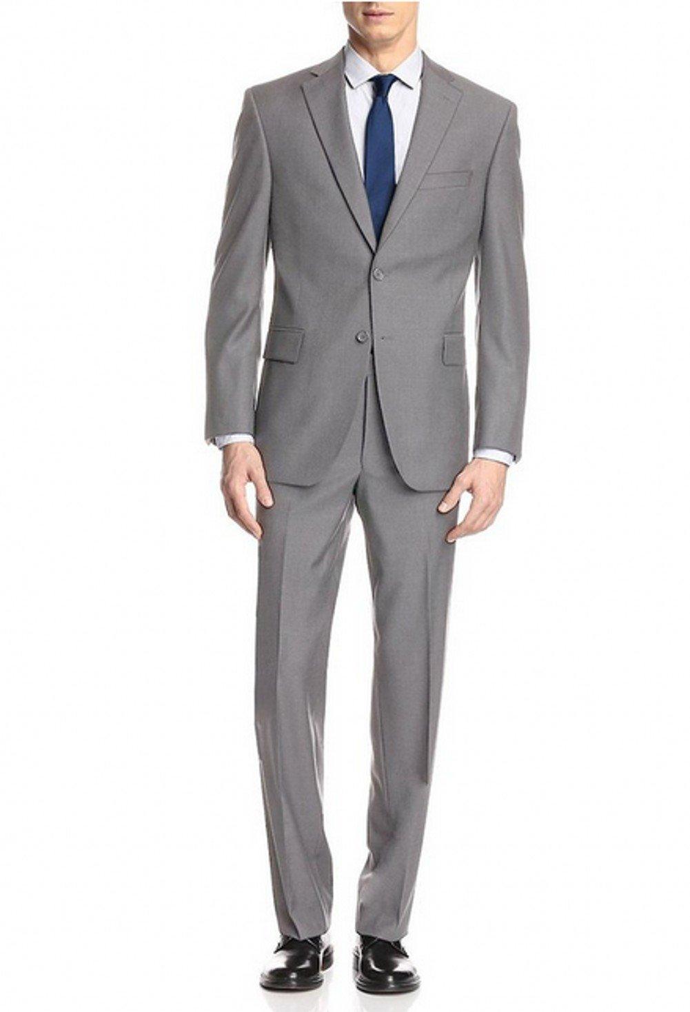 Love Dress Two Button Mens Suit Modern Classic Fit Jacket Pant M