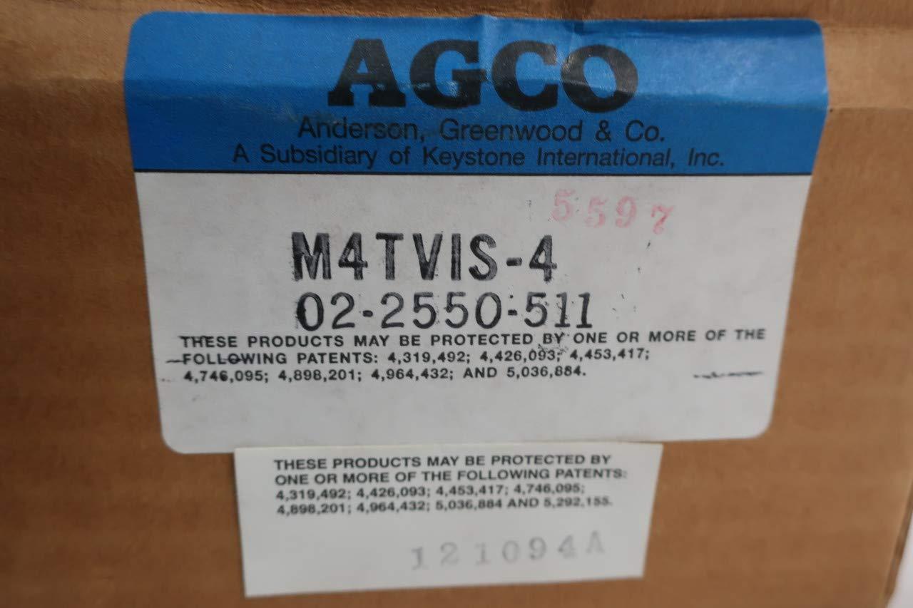 ANDERSON GREENWOOD M4TVIS-4 DIFFERENTAIL Pressure Manifold