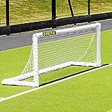 Forza PVC Mini Field Hockey Goal – 8ft x 2.5ft Hockey Goals for Practice Use [Net World Sports]