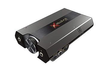 CREATIVE Tarjeta de Sonido USB Externa y DAC para Juegos HD Sound BlasterX G6 7.1 con