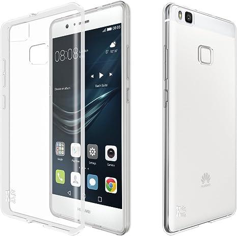 Huawei P9 lite Funda, KingShark Slim Fit Huawei P9 lite Funda Carcasa Case Bumper con Absorción de Impactos y Anti-Arañazos Espalda Case Cover para Huawei P9 lite Transparente: Amazon.es: Electrónica