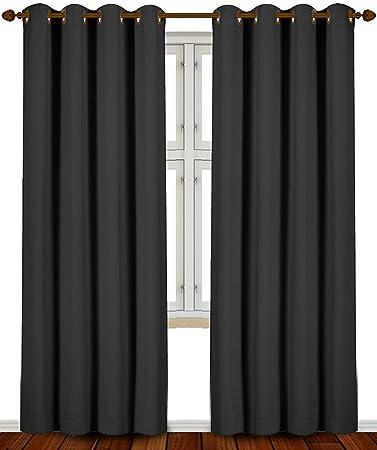 Amazon.com: Utopia Bedding 52 Inch Wide X 84 inch Long Blackout ...