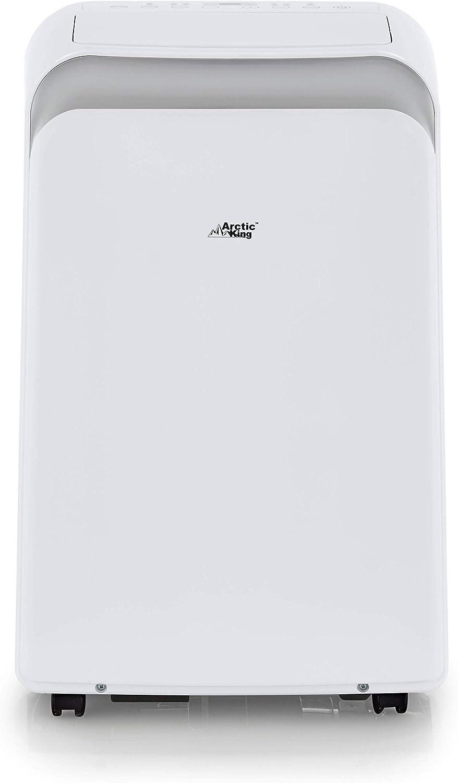 Arctic King 12,000Btu Remote Control Portable Air Conditioner, White Renewed