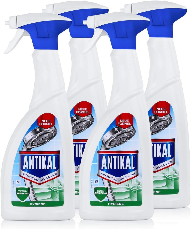 Limpiador antical en espray, 700 ml, elimina la cal (4 unidades ...