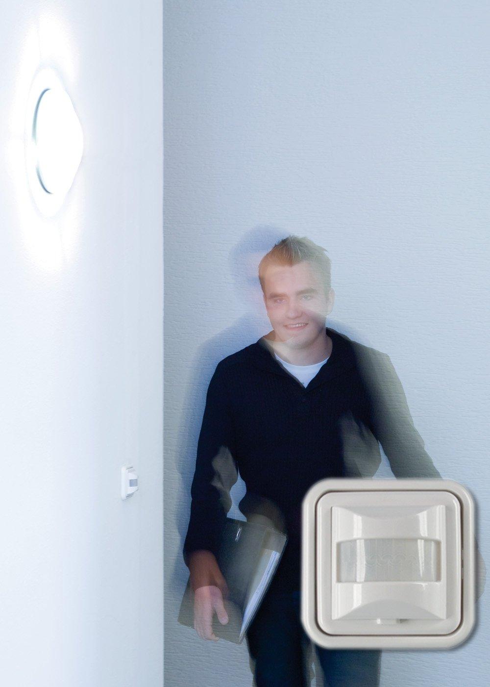 Kompetent Bewegungsmelder 500 W Licht Schalter Led Wand Einbau Infrarot Unterputz Weiß Sonstige