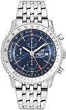Breitling Navitimer World Blue Dial 46 mm Men's Watch A2432212/C651-453A