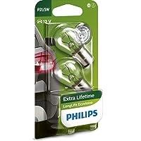Philips 12499LLECOB2 LongLife EcoVision P21/5W signaallamp 12499LLECOB2, blister met 2 stuks