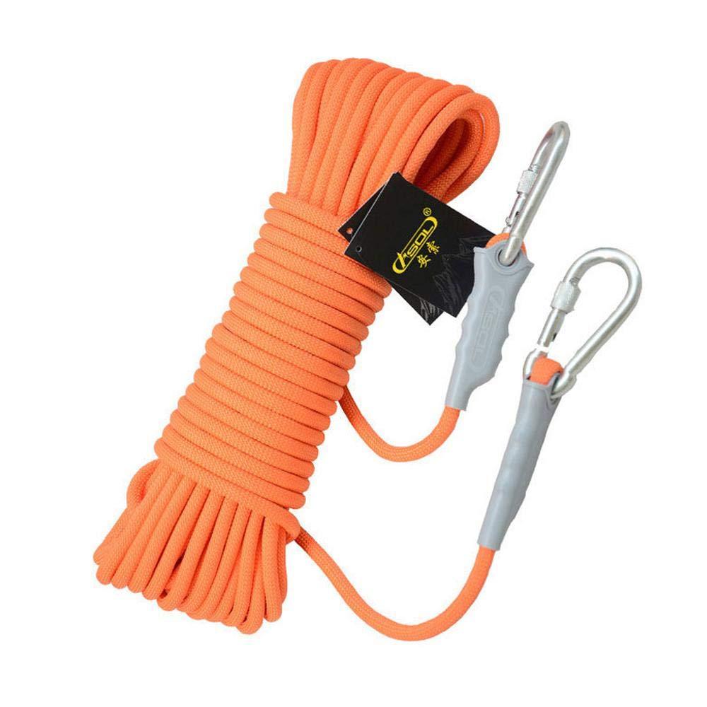 6mm10m CLIMBING 6mm Rescue Escalade Corde Sécurité Corde Ligne De Vie en Plein Air Corde Usure Escalade Montagne Corde d'escalade 6mm30m