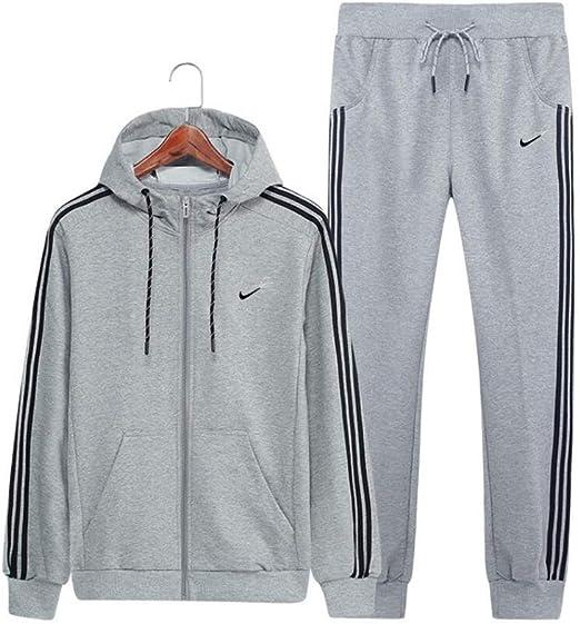 Conjunto de chándal para hombre, pantalones de chándal deportivos ...
