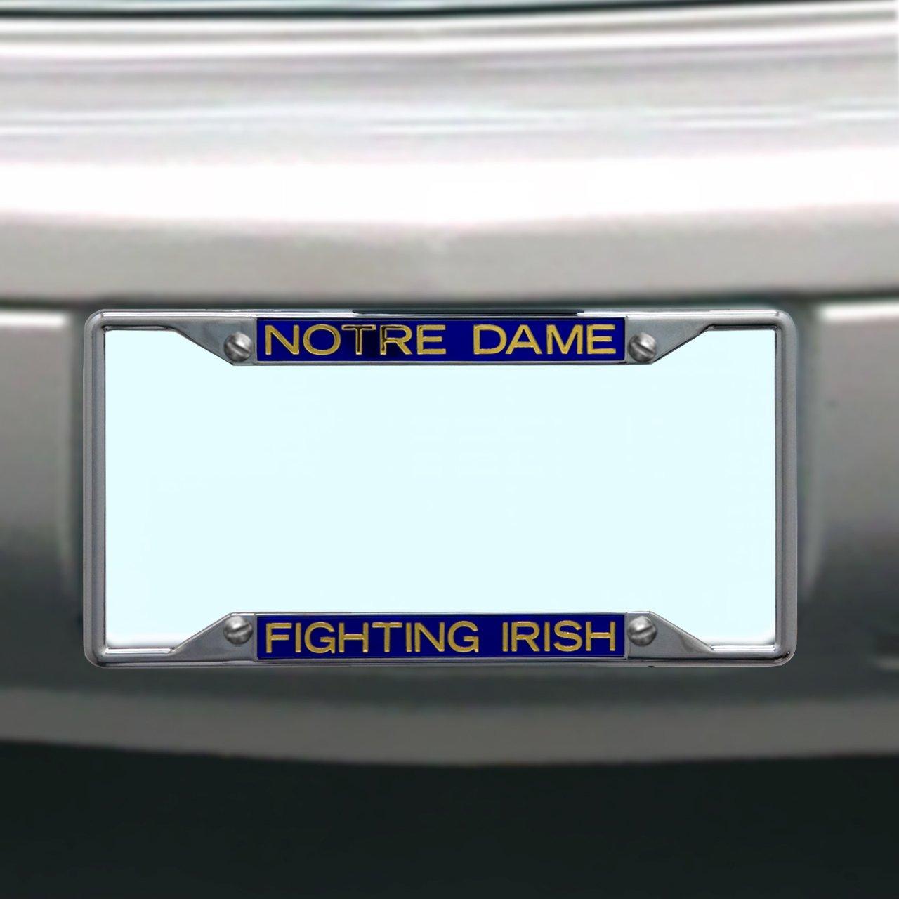NCAA Notre Dame Fighting Irish License Plate Frame