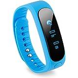 Diggro Sw19 - Smartwatch Bluetooth Pulsera Deportiva (Ip67 Impermeable, Bluetooth 4.0, Podómetro, Gimnasia Salud Sueño, para Android y Ios Smartphone), Azúl