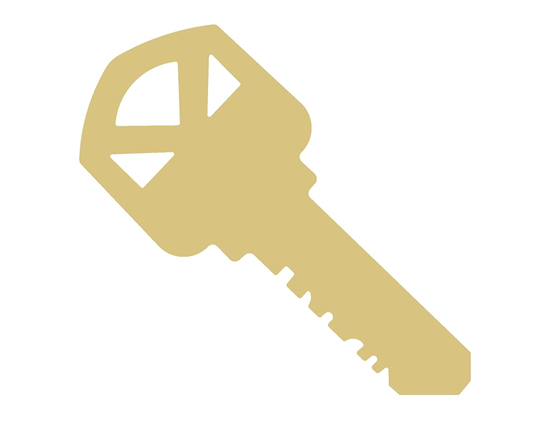 Key Cutout Unfinished Wood Door Lock Safe Vault House Spare Master Garage MDF Shape Canvas Style 5