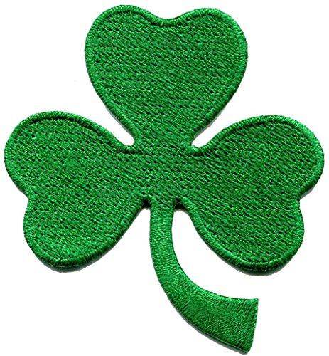 St Patricks Day Guitar - New St. Patrick's Day Irish Shamrock Three Applique Iron-on Patch