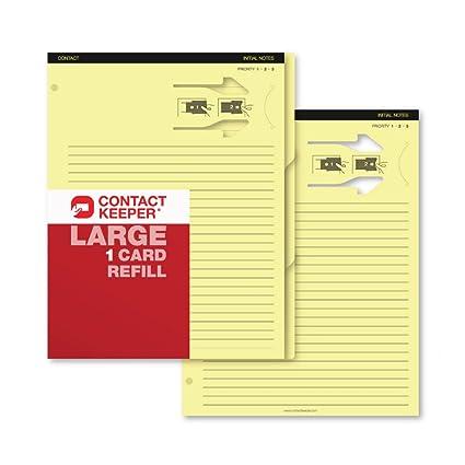 Contacto Keeper tarjetas de visita y notas soporte Recambio ...