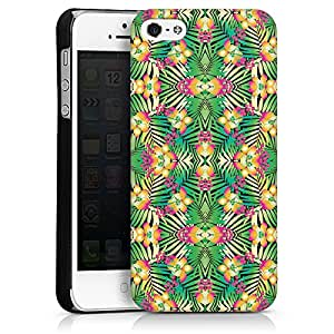 Carcasa Design Funda para Apple iPhone 5 HardCase black - Exotic