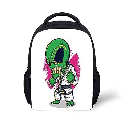 Amazon.com  iPrint Kids School Backpack Outer Space Decor 77f0f2e84e360