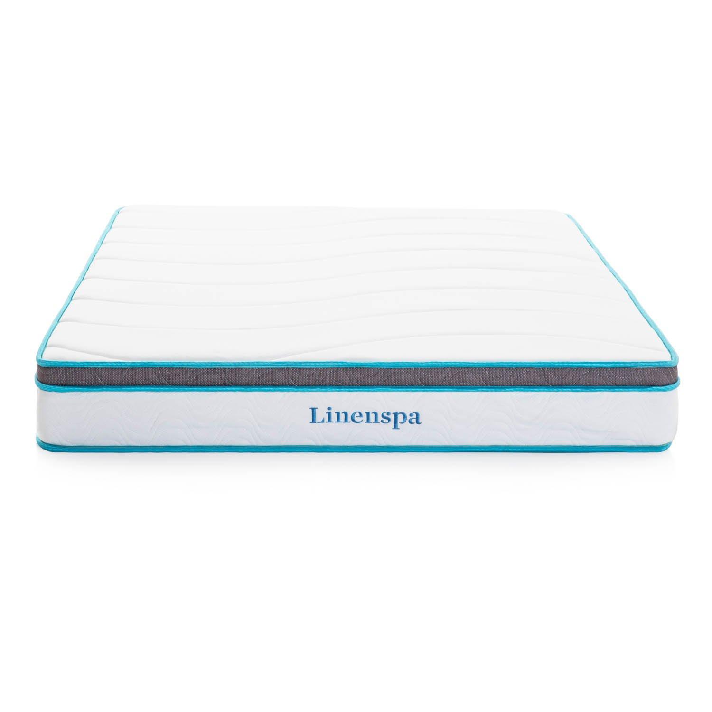 LinenSpa 8'' Memory Foam and Innerspring Hybrid Mattress, Twin XL by Linenspa (Image #2)