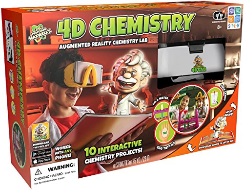 Professor Maxwell's 4D Augmented Reality Science Kit - Chemistry