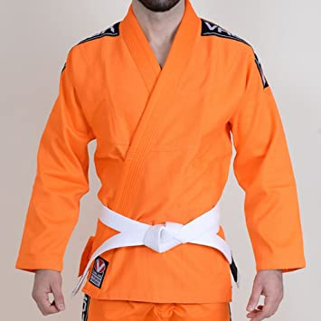 Amazon.com: Valor Bravura BJJ Gi – Naranja, A4: Clothing