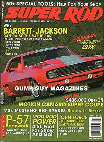 SUPER ROD May 2006 Magazine Hot Rodding's High-Performance
