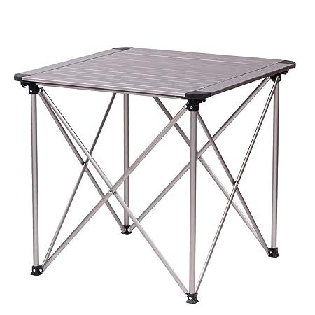 WPCBAA Mesa Plegable al Aire Libre de la aleación de Aluminio ...