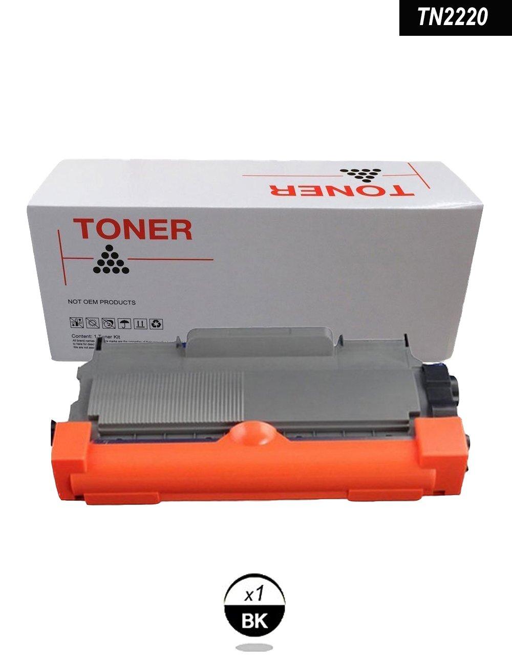 DOREE 2 x Tóners compatibles con Brother Tn-2220/2010- NON OEM ...