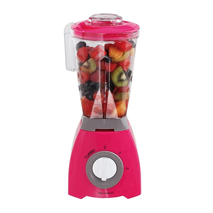 Batidora de Mix 1 litros Smoothie maker 2 niveles Vaso Medidor (Blender, licuadora, 400 W, leche Coctelera, cóctel de Maker, Rosa): Amazon.es: Hogar