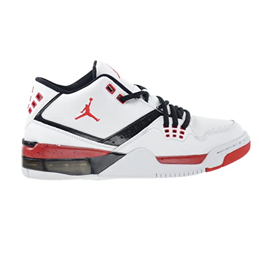 8c8e1aaabee13d ... inexpensive jordan flight 23 bg big kids shoes white university red  black 317821 116 c9025 97b6a