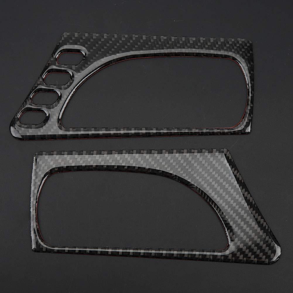EBTOOLS Maniglia interna della portiera anteriore dellautomobile Cover Trim per IS250 Parti per auto 300/350/200 T 2013-2018 Rifiniture interne