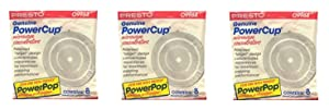 Presto 09964 Microwave Power Pop Powercup Popcorn Concentrator Cup - 24 Pack