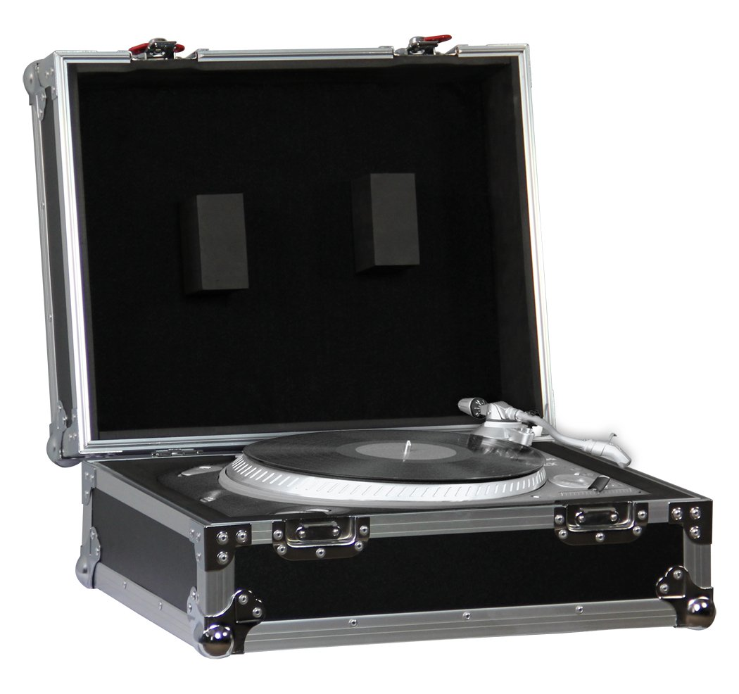 Gator G-TOUR TT1200 Case to Fit 1200 Style Turntables, Black