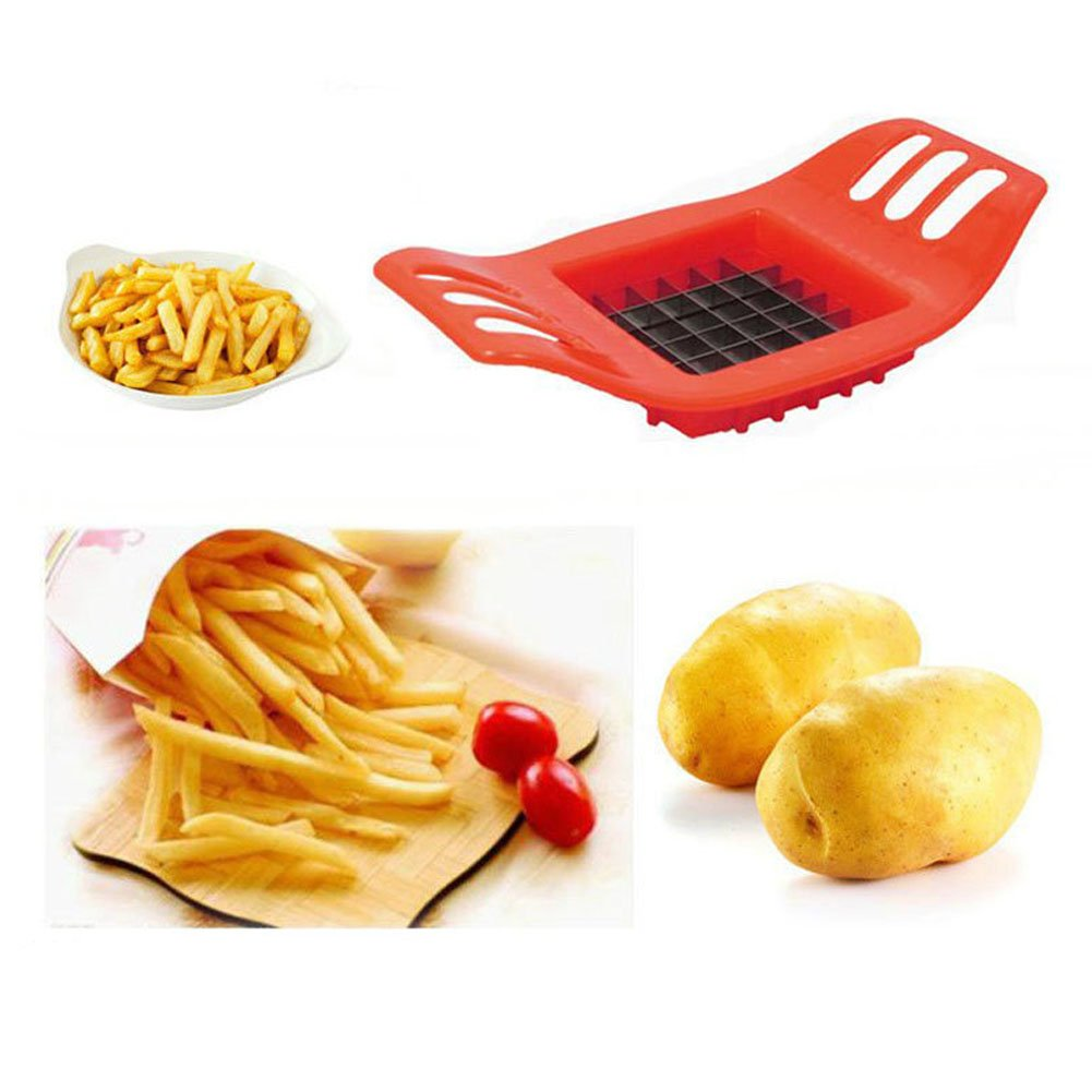 Everpert Brand New Stainless French Fry Cutter Potato Vegetable Slicer Chopper