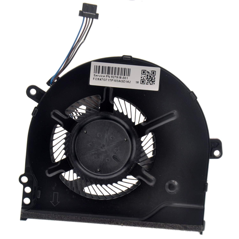 Deal4GO Replacement CPU Cooling Fan for HP Pavilion 14-BK061ST 14-BK TPN-q191 15-CC 15-CC100 CPU Fan 927918-001