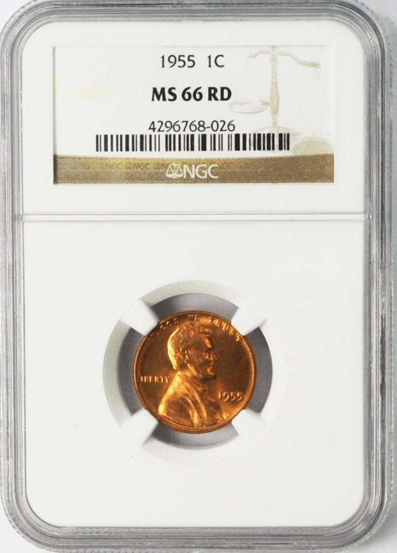 1941-D Lincoln Wheat Cent Red MS-66RD NGC