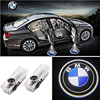 CARMOCAR Easy Installation Car Door LED Logo Projector Ghost Shadow Lights 2-pc Set For BMW by KW