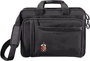 Kappa Alpha Psi Crest - Shield Briefcase Attache Black