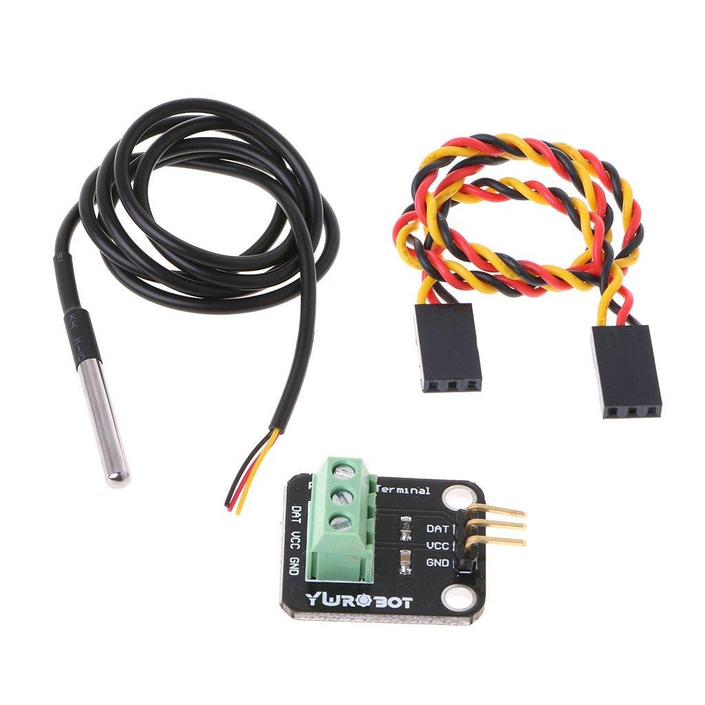 DS18B20 Temperature Sensor Module Kit Waterproof Electronic Building Block NEW
