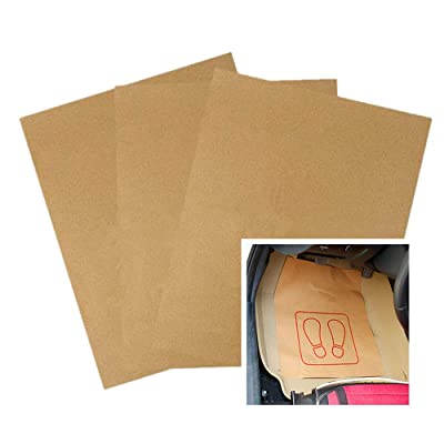 Moyishi Disposable Automotive Interior Protection Floor-Mate Eco-Barrier Recycled Paper Mat,Set of 50: Automotive