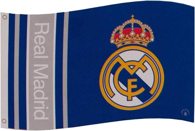 Real Madrid F.C. Bandera WM: Amazon.es: Deportes y aire libre